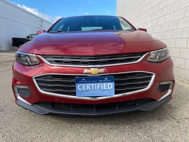 Certified 2017 Chevrolet Malibu Hybrid with VIN 1G1ZJ5SU6HF128357 for sale in Rochester, Minnesota