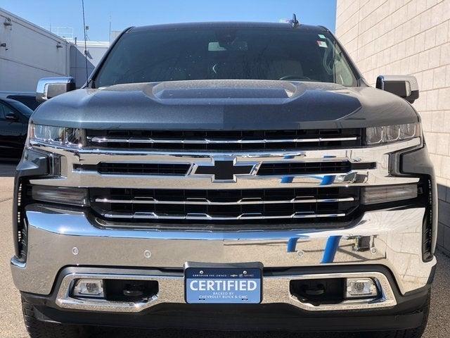 Certified 2019 Chevrolet Silverado 1500 LTZ with VIN 1GCUYGED6KZ178606 for sale in Rochester, Minnesota