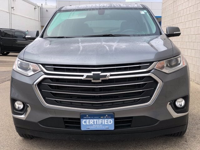 Certified 2019 Chevrolet Traverse 1LT with VIN 1GNEVGKW9KJ137671 for sale in Rochester, Minnesota