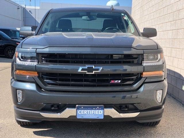 Certified 2018 Chevrolet Silverado 1500 LT Z71 with VIN 2GCVKREC3J1109596 for sale in Rochester, Minnesota