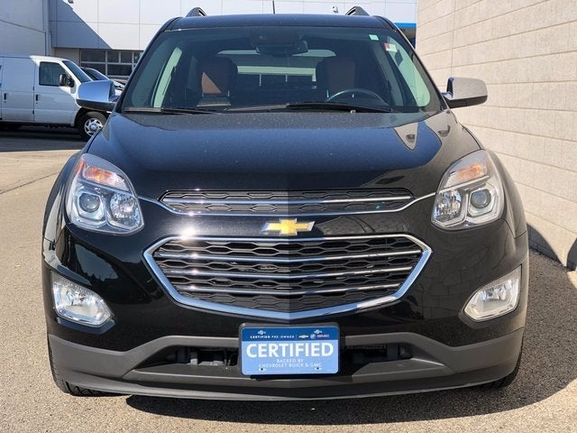 Certified 2017 Chevrolet Equinox Premier with VIN 2GNFLGE38H6159856 for sale in Rochester, Minnesota