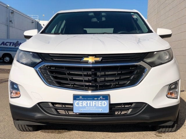 Certified 2019 Chevrolet Equinox LT with VIN 3GNAXUEV2KS668865 for sale in Rochester, Minnesota