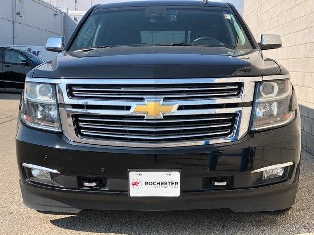 Used 2015 Chevrolet Tahoe LTZ with VIN 1GNSKCKC5FR218152 for sale in Rochester, Minnesota